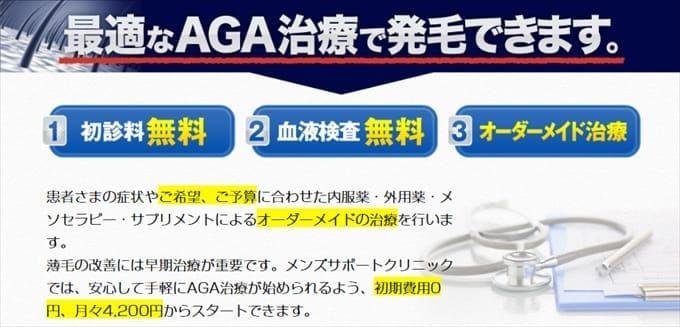 月々4,200円~のオーダーメイド処方!